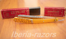 Straight razor kaufmann 55 oro, made in solingen