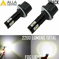 Alla Lighting 50W 880 899 Super Bright 6000K White High Power LED Fog Light Bulb