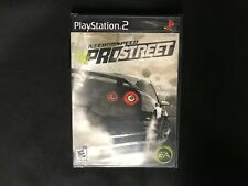 Need for Speed: ProStreet PS2 Sony PlayStation 2, 2007 Brand New Factory Sealed