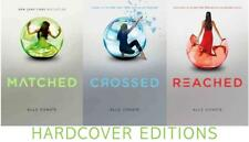 Matched Trilogy Yby Ally Condie HARDCOVER Books 1-3 MATCHED / CROSSED / REACHED