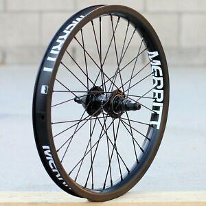 MERRITT BMX BIKE BATTLE FREECOASTER BICYCLE WHEEL BLACK RHD