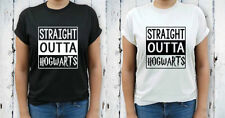 Harry Potter Hip Length Regular Size T-Shirts for Women