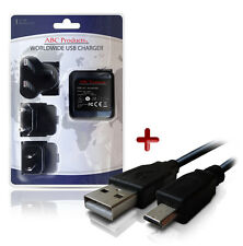 Cámara Digital Kodak Easyshare M583/M590/M75 Cable USB + Cargador de batería