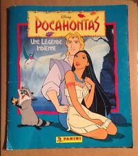 CLASSEUR / ALBUM PANINI COMPLET DE 1995 : POCAHONTAS, UNE LEGENDE INDIENNE RARE