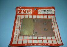 jeu de 2 plaquettes de freins arrière d'origine SUZUKI VX 800 591400-20820