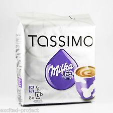 TASSIMO Original German Milka- Hot Chocolate Drink Capsules - 8 T-Discs