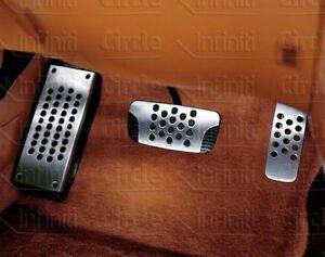 New OEM Infiniti FX35 FX45 Sport Drilled Aluminum Automatic Pedals Upgrade Kit