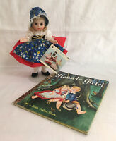 "Madame Alexander 8"" Gretel #454 Storyland Series Doll with Tag, Storybook"