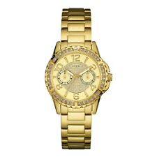 Authentic GUESS Ladies' Sassy Watch Gold Tone W0705L2