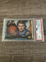 2018-19 Panini Court Kings Acetate Luka Doncic RC Mavericks Rookie PSA 9