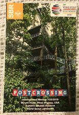 2019 24th World Scout Jamboree Postcard Postcrossing Meetup  TREEHOUSE