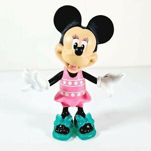 DISNEY Matel Hard Plastic Minnie Mouse Snap On 15cm Figurine 2011