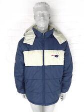 Vintage années 90 Reebok NFL Veste Homme L Rétro patriotes gilet manteau NFL Urban USA