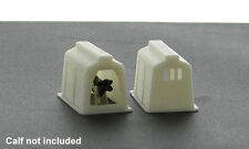1:64 CALF COWS PIGS LIVESTOCK SHELTER PLASTIC 3D TO SCALE DIORAMA ACCESSORY