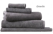 1 X Sheridan Trenton King Towel/bath Sheet Granite