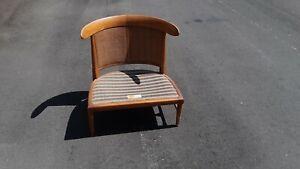 Vintage mcm Tomlinson Sophisticate Slipper Chair PAIR Nice ORLANDO Pickup only
