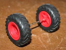 Playmobil country roues arrières tracteur ferme 4497