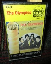 THE OLYMPICS: SELF TITLED THE OLYMPICS MUSIC CASSETTE TAPE, GOLDEN GREATS, GUC