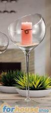 Vaso vetro calice coppa across 60cm ad