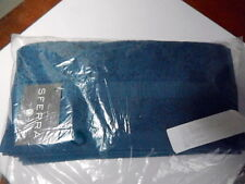 Sferra BELLO MIDNIGHT BLUE Washcloth(s) SET / 3 Combed Cotton  BELGIUM - NEW!