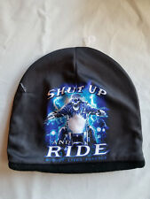 Shut Up and Ride Skull Skeleton Beanie Hat Skull Cap Head Wear Sublimation