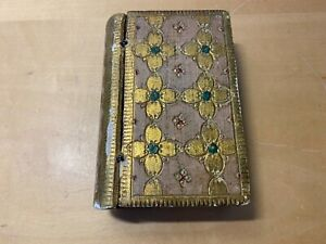 Used - Wood BOX  CAJA Madera - 12 x 8 x 3,5 cm - Decorative Decorativa - Usado