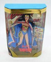 1999 Mattel Barbie Wonder Woman Special Edition Doll NRFB NIB Vintage DC Comics