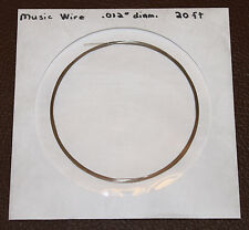 Piano Wire / Music Wire - 20 ft coil, 0.010