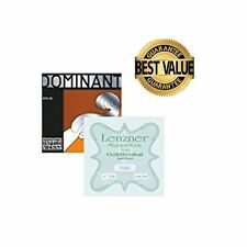 Thomastik Dominant 135B Violin String Set/A,D,G with Goldbrokat  E Loop End 4/4