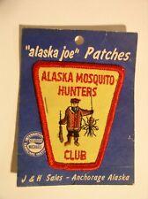 Alaska Joe Mosquito Hunters Club Patch J&H Sales Anchorage
