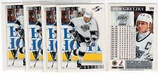 1X WAYNE GRETZKY 1995 96 Score #250 Lots Available NMMT LA Kings Oilers Rangers