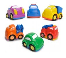 SET OF 6 THEMED CARS FOR TODDLERS RACE CARS FOR BABY PUSH ALONG