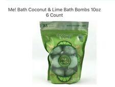 Me! Bath Coconut & Lime Bath Bombs 10oz 6 Count