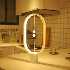 Heng Balance Lamp LED Night Light Magnetic USB Powered Home Decor Gift US V7J2Y