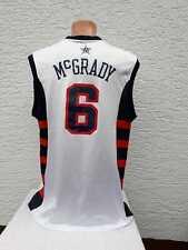 USA Basketball Trikot McGrady Reebok Jersey Shirt Maglia Maillot Camiseta M L