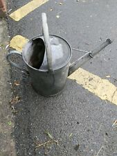 Old vintage metal watering can  collectable low starting bid