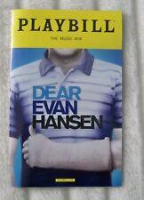Playbill - Dear Evan Hansen - April 2017