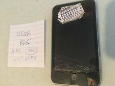 Black 3rd Gen iPod Touch -- Model A1318 -- 32GB -- SOLD AS IS -- Listing#5