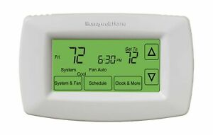 Honeywell Home RTH7600D 7-Day Programmable Touchscreen Thermostat, small, whi...