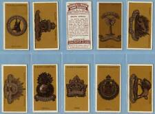 Full Set, Players, Colonial & Indian Army Badges 1917 VG+ (Se62-216)