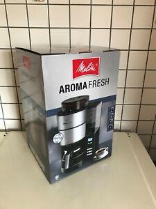 MELITTA AromaFresh Filterkaffeemaschine mit Mahlwerk und Timer 1021-01