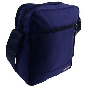 Padded Nylon Mens Cross Body Bag Shoulder Bag