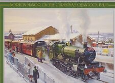 Jigsaw Puzzle Norton Manor On Christmas Quantock Belle: GWR 7828 Odney Manor WSR
