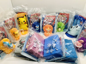 RARE Limited Ed. 2008 Burger King Pokemon Toys - Pikachu, Dialga, Palkia, Etc.