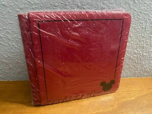 New Creative Memories 7x7 Disney Mickey Mouse Red Album 12 Pages Scrapbook L0921