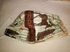 Moose Pine Trees Cotton Face Mask! Washable! Hand Made