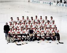Team USSR Russia 1972 Summit Series Team Shot 8x10 Photo