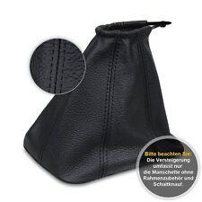 Schaltsack Schaltmanschette für Ford Mondeo MK3 2003-Echtes Leder schwarz