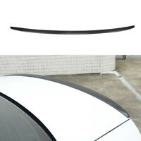 Carbon Fiber Rear Trunk Spoiler Tail Boot Wing Lip Fit for Audi A6 C7 2013