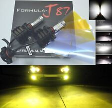 LED Kit V 60W PSX24W 2504 3000K Yellow Two Bulbs Fog Light Replacement Upgrade